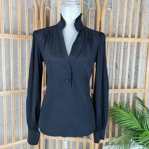 Diane Von Furstenberg Long Blouse Silk